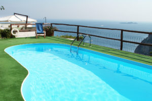 Pool with a view of Li Galli